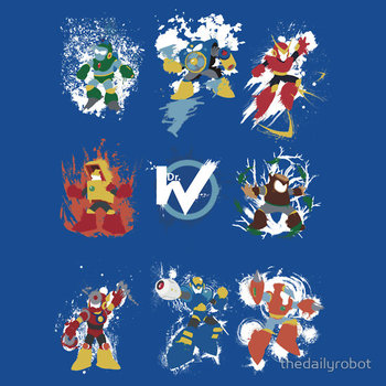 Robot Masters of Mega Man 2
