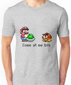 Come at me Bro (Mario) Unisex T-Shirt