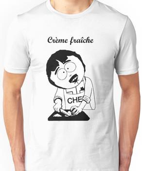 Creme Fraiche South park Unisex T-Shirt