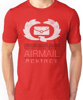 Zelda Wind Waker - Dragon Roost Island Airmail Unisex T-Shirt