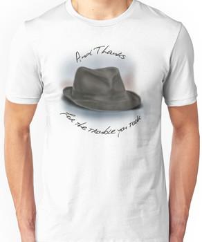 Hat for Leonard Cohen Unisex T-Shirt