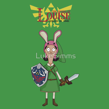 The Legend of Louise - Bob's Burgers Crossover