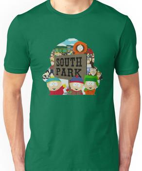 South Park Silhouette  Unisex T-Shirt