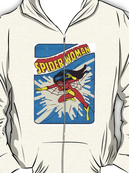 Spider Woman Hoodie (Zipper)