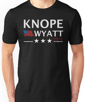 KNOPE WYATT PARKS AND RECREATION Unisex T-Shirt