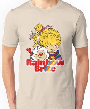 Rainbow Brite - Group - Rainbow & Twink - Large - Color Unisex T-Shirt