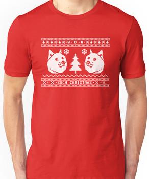 Doge Ugly Christmas Sweater Unisex T-Shirt