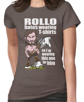 Rollo hates (White text) Women's T-Shirt