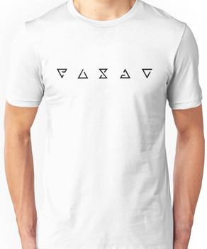 The Witcher Signs - Minimalist (Black) Unisex T-Shirt