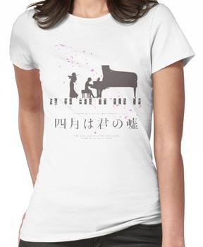 Shigatsu wa Kimi no Uso Women's T-Shirt