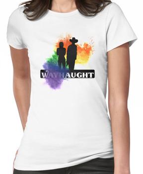 Wayhaught - Rainbow Splash Women's T-Shirt