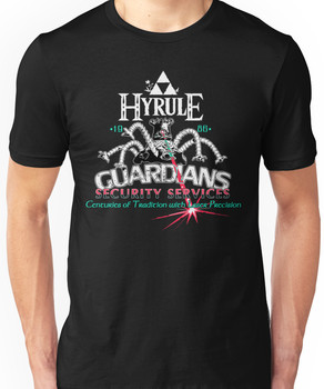 Zelda Breath of the Wild Hyrule Guardians Unisex T-Shirt