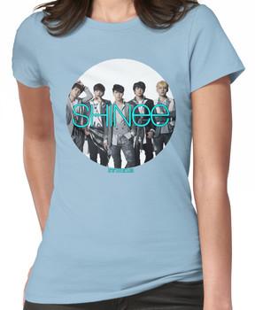 SHINee photo circle  Women's T-Shirt