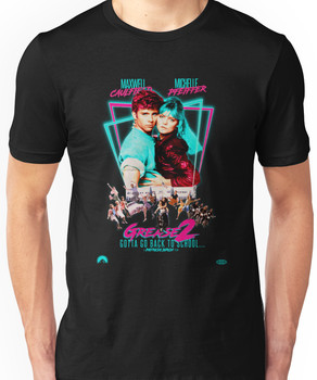 Neon 80's GREASE 2  Unisex T-Shirt