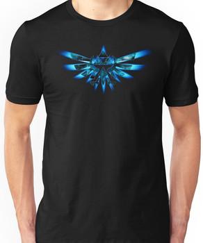Blue Triforce The legend of zelda Unisex T-Shirt
