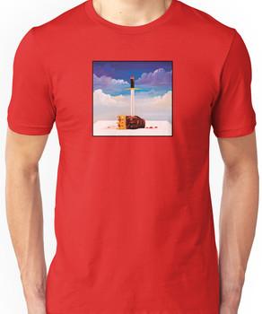 kanye west beautiful dark twisted fantasy head Unisex T-Shirt