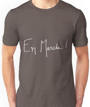En Marche! Logo for Dark Colors Unisex T-Shirt
