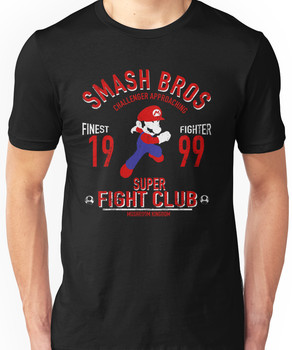 Mushroom Kingdome Fighter Unisex T-Shirt