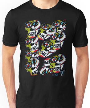 """Skulls"" hand painted   Unisex T-Shirt"