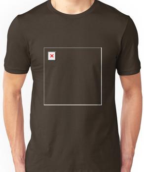 404 Design Not Found Unisex T-Shirt