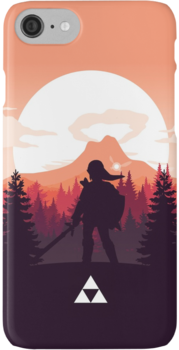 The Legend of Zelda (Orange) iPhone 7 Cases