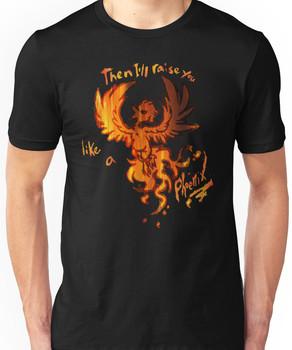 Fall Out Boy - The Phoenix - Then I'll Raise You Like A Phoenix Unisex T-Shirt