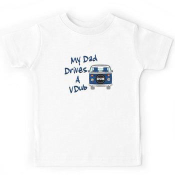 My Dad Drives a VDub (Blue) Kids Clothes