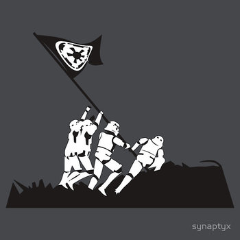 Stormtroopers fight for the Empire T-shirt