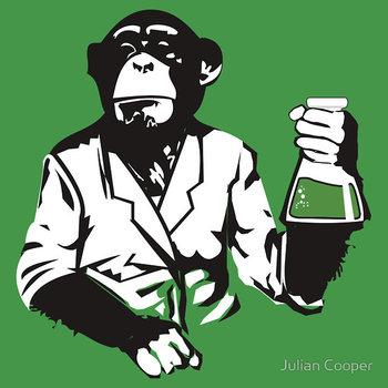 E=MC Bananas T-Shirt by Julian Cooper