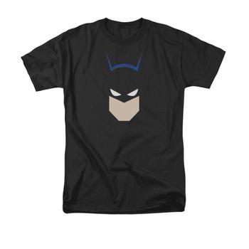 Batman Bat Head Adult Black T-Shirt from Warner Bros.