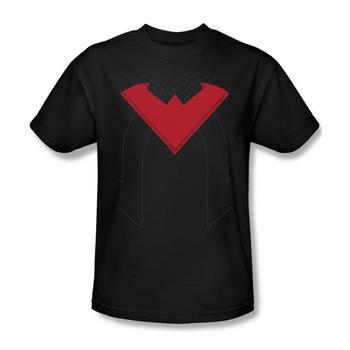 Nightwing New 52 Uniform Adult Black T-Shirt from Warner Bros.