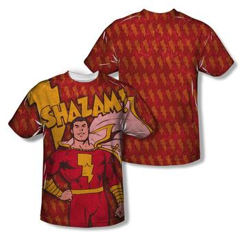 Shazam! Adult Sublimation Print T-Shirt from Warner Bros.