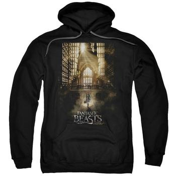 Fantastic Beasts And Where To Find Them&Trade; Theatrical Poster Adult Black Hoodie from Warner Bros.