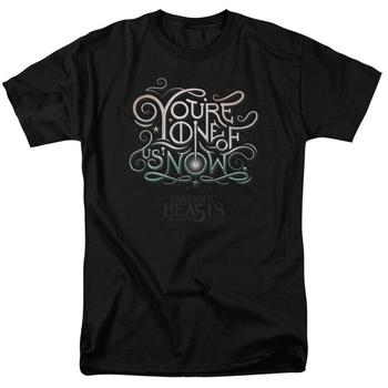 Fantastic Beasts And Where To Find Them&Trade; You're One Of Us Adult Black T-Shirt from Warner Bros.