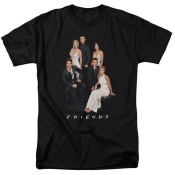 Friends Classy Adult Black T-Shirt from Warner Bros.