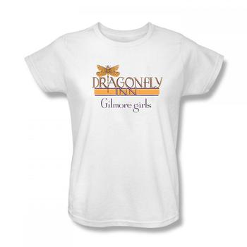 Gilmore Girls Dragonfly Inn Women's Relaxed Fit T-Shirt from Warner Bros.