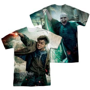 Harry Potter Vs. Voldemort Sublimation Print Adult T-Shirt from Warner Bros.