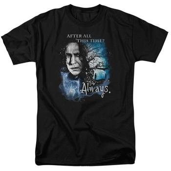 After All This Time? Adult Black T-Shirt from Warner Bros.