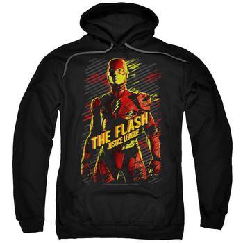 Justice League Movie The Flash Adult Black Hoodie from Warner Bros.