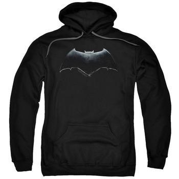 Justice League Movie Batman Logo Adult Black Hoodie from Warner Bros.