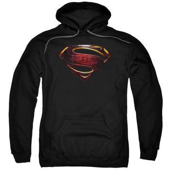 Justice League Movie Superman Logo Adult Black Hoodie from Warner Bros.