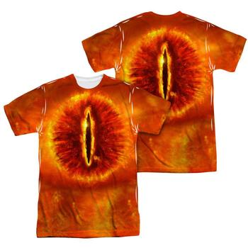 The Lord Of The Rings Eye Of Sauron Sublimation Print Adult T-Shirt from Warner Bros.