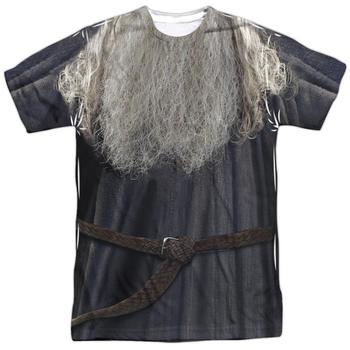 The Lord Of The Rings Gandalf The Grey Costume Sublimated Adult T-Shirt from Warner Bros.