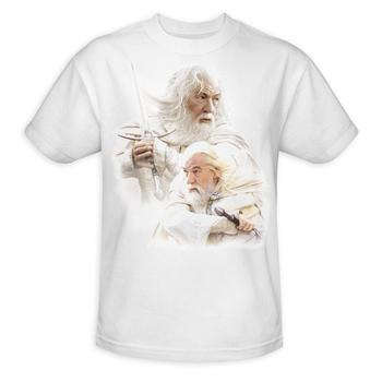 The Lord Of The Rings Gandalf The White Adult T-Shirt from Warner Bros.