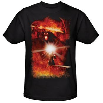 The Lord Of The Rings Gandalf And Balrog Adult T-Shirt from Warner Bros.