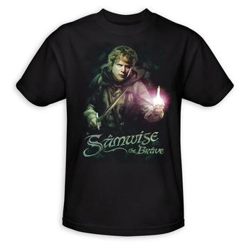 The Lord Of The Rings Samwise The Brave Adult T-Shirt from Warner Bros.