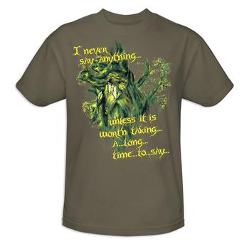 The Lord Of The Rings Treebeard Slow Talker Adult T-Shirt from Warner Bros.