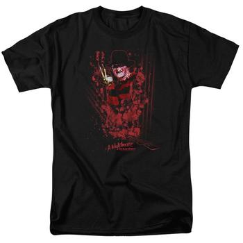 A Nightmare On Elm Street One, Two, Freddy's Coming For You Adult Black T-Shirt from Warner Bros.