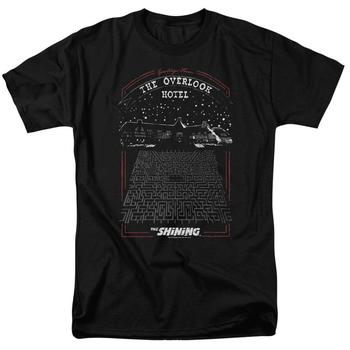 The Shining Overlook Black T-Shirt from Warner Bros.