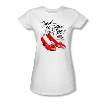 The Wizard Of Oz&Trade; There's No Place Like Home&Trade; Ruby Slippers&Trade; Juniors T-Shirt from Warner Bros.